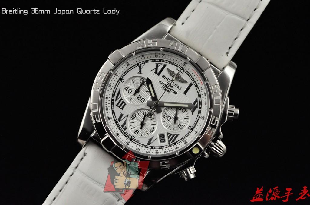 Breitling Watch 01038 Men's All-steel Wristwatches