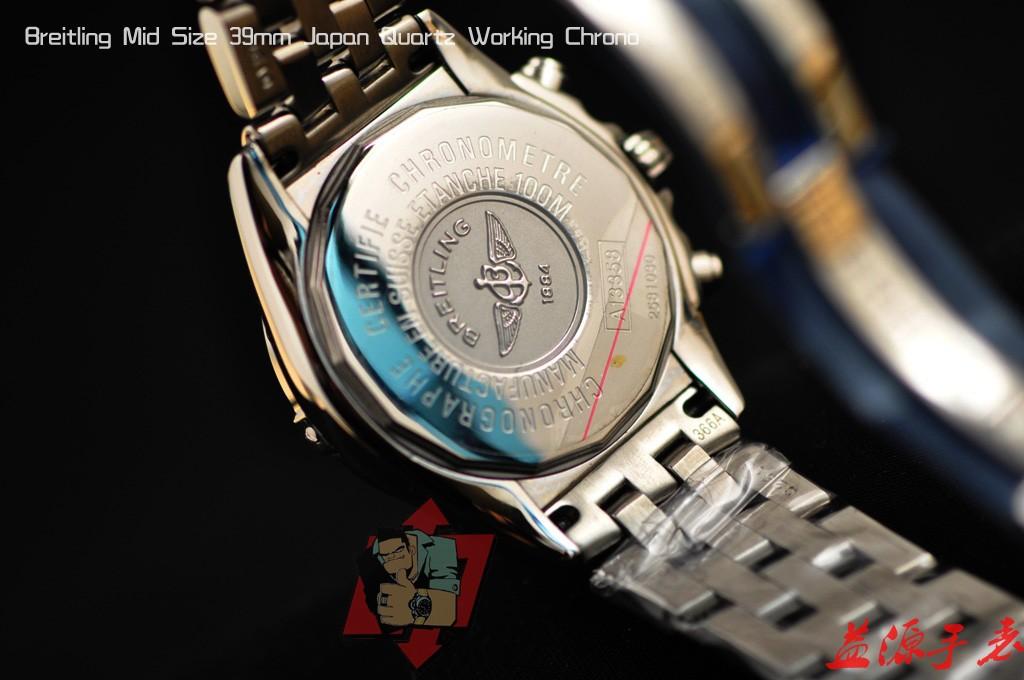 Breitling Watch  01046 Men's All-steel Wristwatches