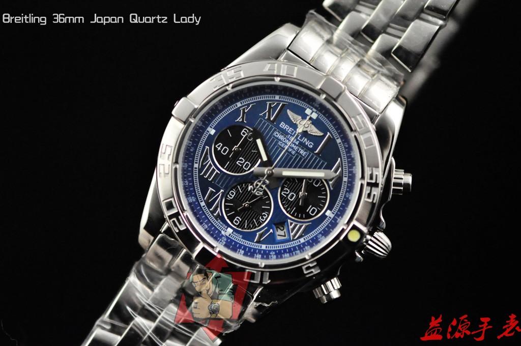 Breitling Watch  001053 Men's All-steel Wristwatches