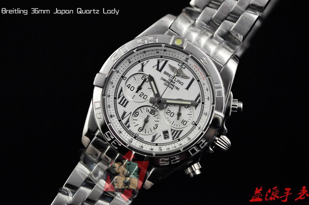Breitling Watch  001058 Men's All-steel Wristwatches