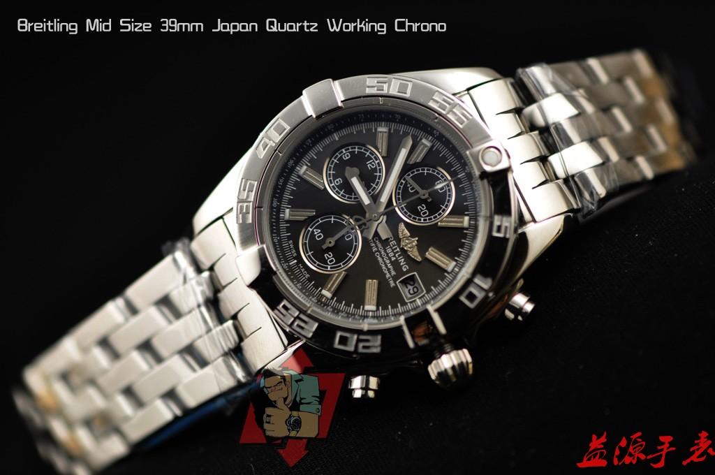 Breitling Watch  001064 Men's All-steel Wristwatches