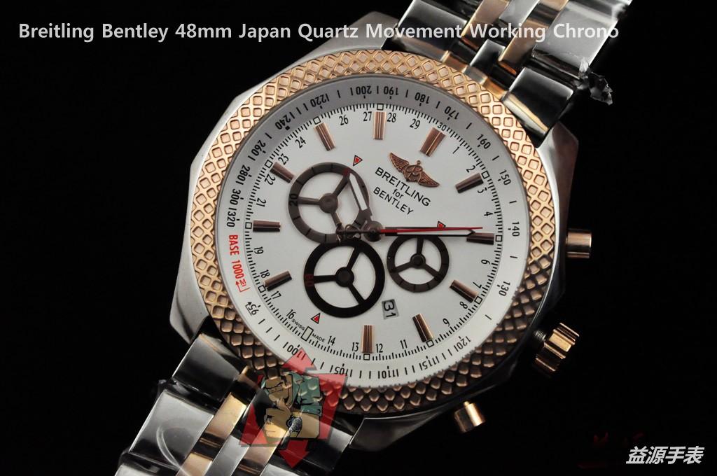 Breitling Watch  001079 Men's All-steel Wristwatches
