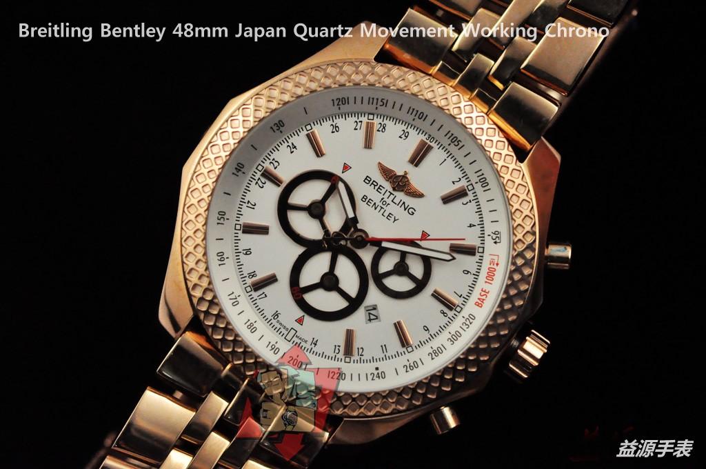 Breitling Watch  001090 Men's All-steel Wristwatches