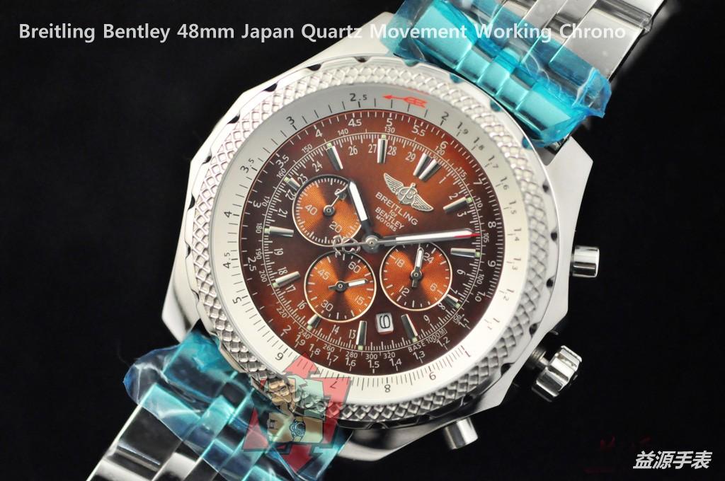 Breitling Watch 01092 Men's All-steel Wristwatches