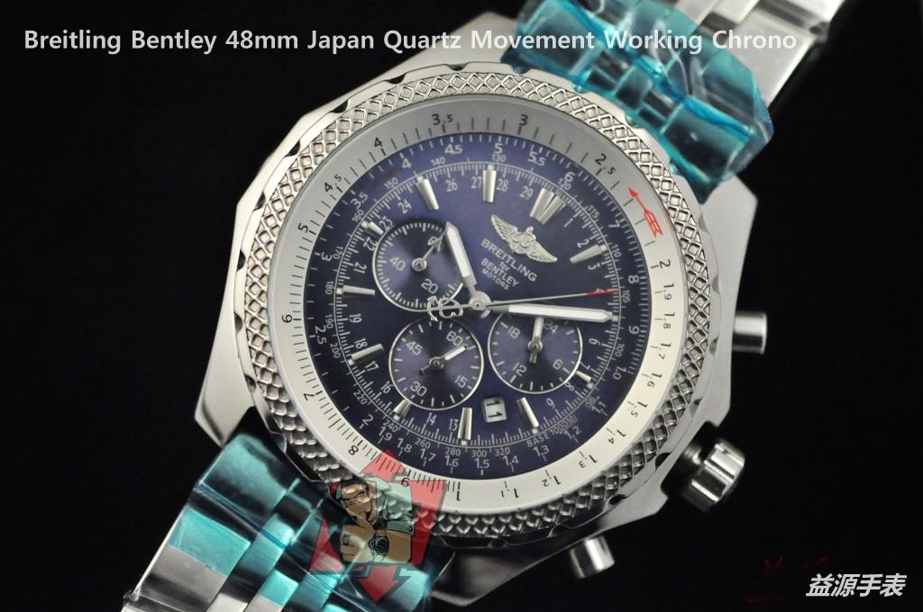 Breitling Watch 01094 Men's All-steel Wristwatches