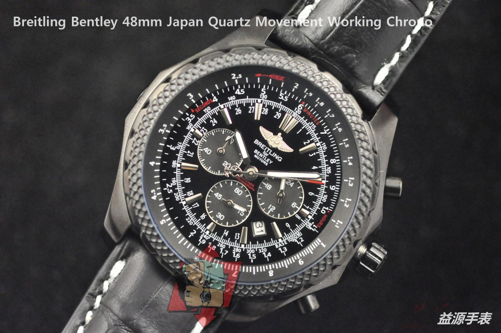 Breitling Watch 01095 Men's All-steel Wristwatches