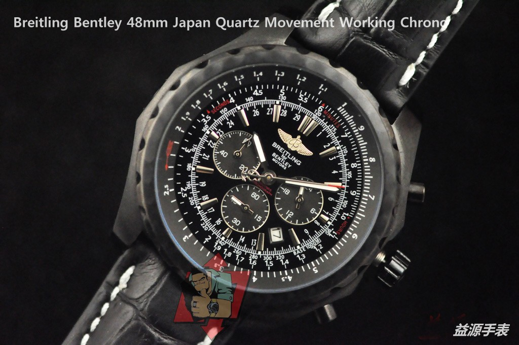 Breitling Watch 01096 Men's All-steel Wristwatches