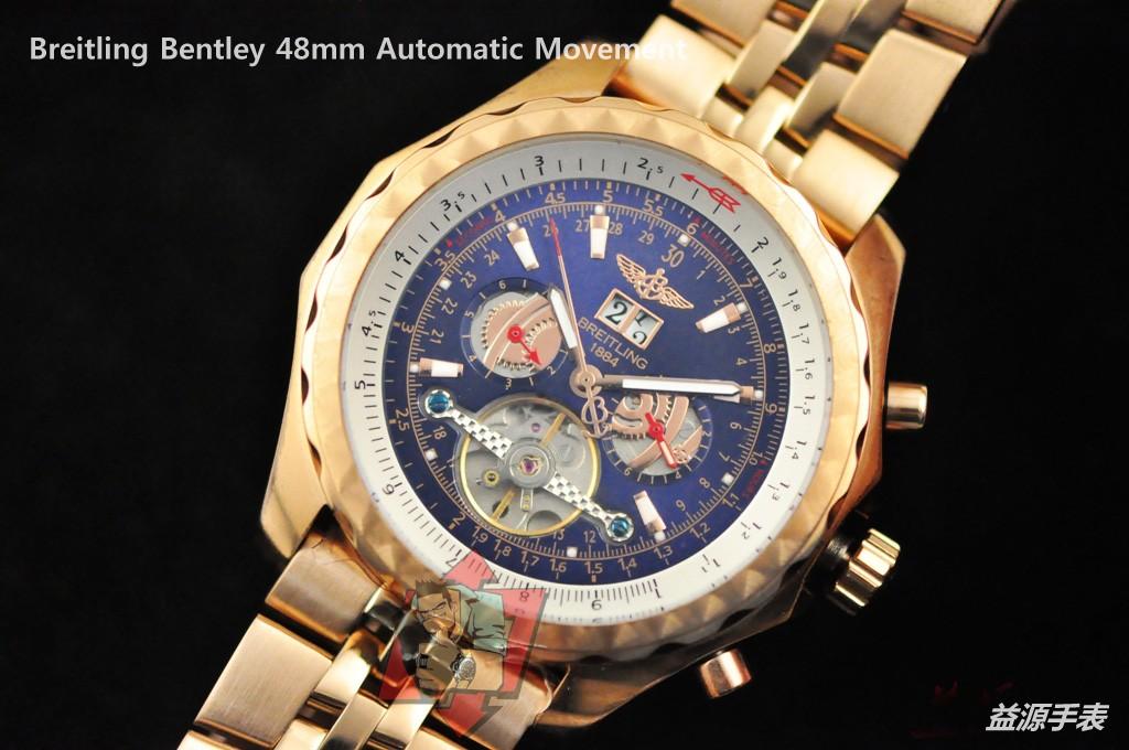 Breitling Watch 01103 Men's All-steel Wristwatches