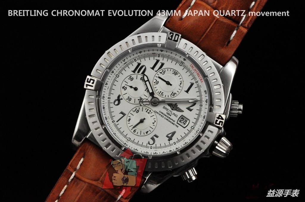Breitling Watch 01118 Men's All-steel Wristwatches