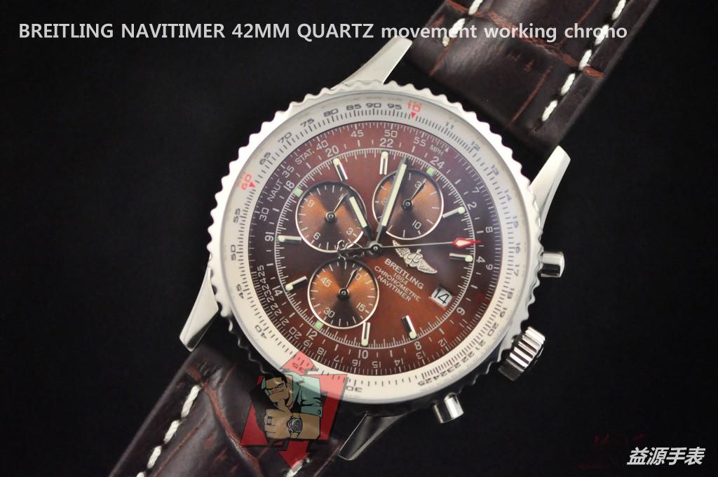 Breitling Watch 01129 Men's All-steel Wristwatches