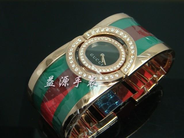 GUCCI Watch 01250 Men's All-steel Wristwatches