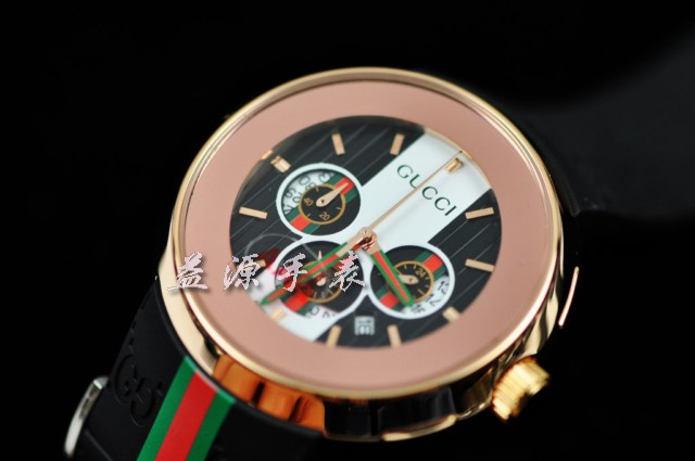 GUCCI Watch 01270 Men's All-steel Wristwatches