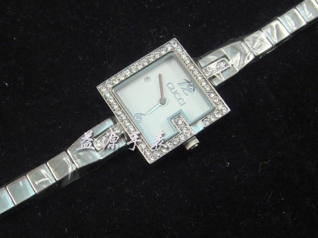 GUCCI Watch 01274 Men's All-steel Wristwatches