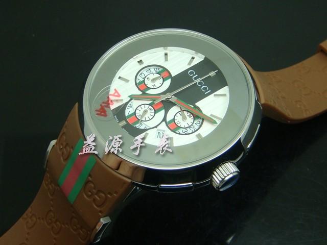 GUCCI Watch 01276 Men's All-steel Wristwatches
