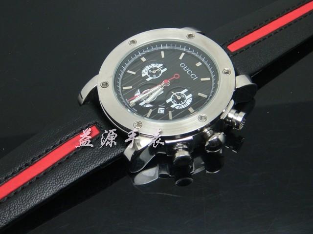 GUCCI Watch 01329 Men's All-steel Wristwatches