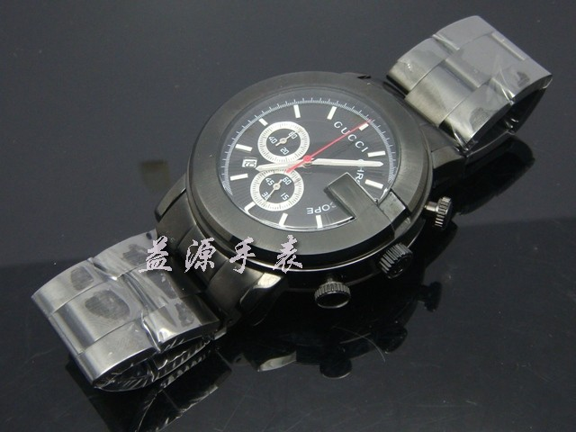 GUCCI Watch 01346 Men's All-steel Wristwatches