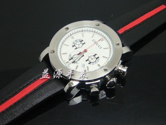 GUCCI Watch 01349 Men's All-steel Wristwatches
