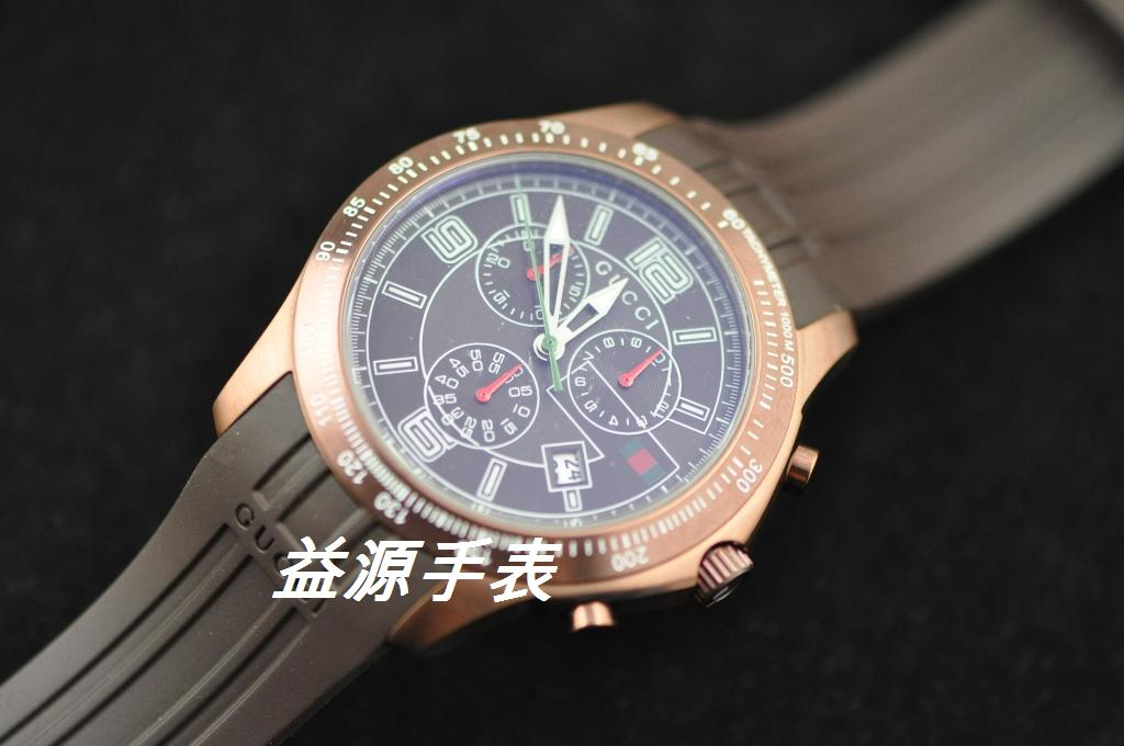 GUCCI Watch 01351 Men's All-steel Wristwatches