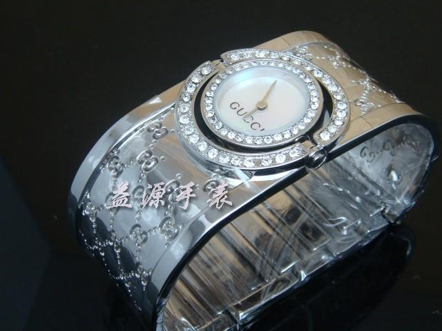 GUCCI Watch 01354 Men's All-steel Wristwatches