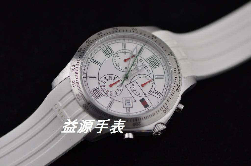 GUCCI Watch 01357 Men's All-steel Wristwatches