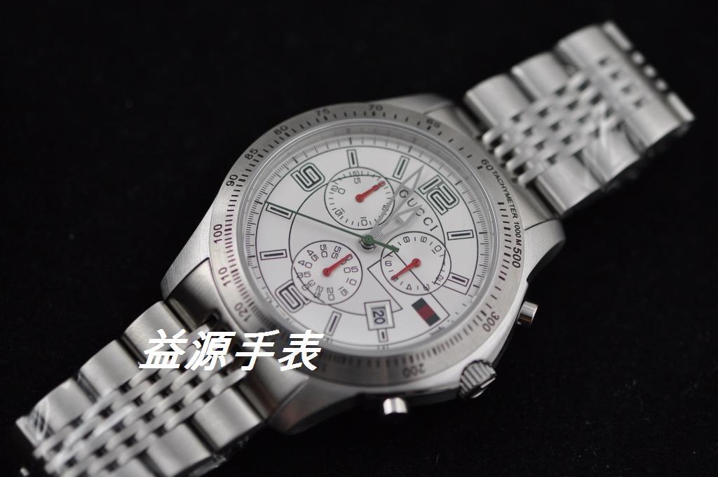 GUCCI Watch 01367 Men's All-steel Wristwatches