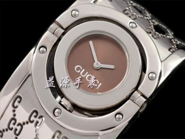 GUCCI Watch 01371 Men's All-steel Wristwatches