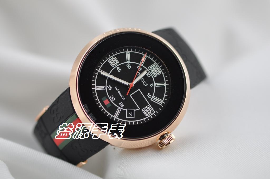 GUCCI Watch 01375 Men's All-steel Wristwatches
