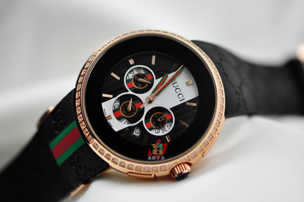 GUCCI Watch 01390 Men's All-steel Wristwatches