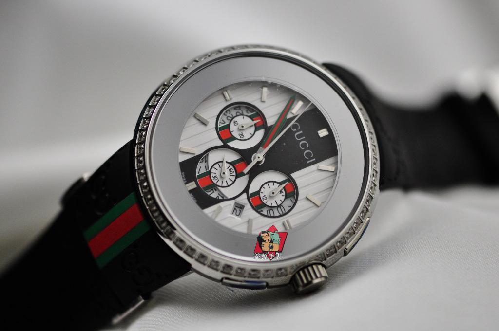 GUCCI Watch 01391 Men's All-steel Wristwatches