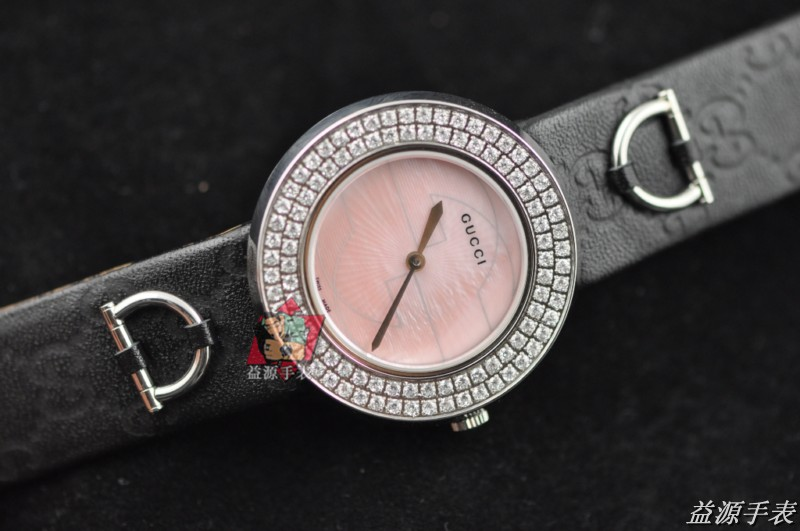 GUCCI Watch 01417 Men's All-steel Wristwatches