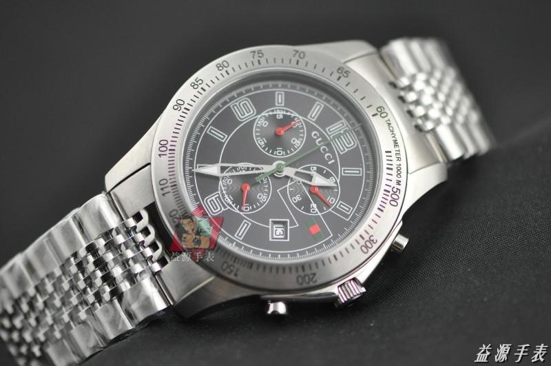 GUCCI Watch 01435 Men's All-steel Wristwatches