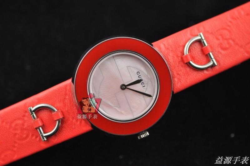GUCCI Watch 01445 Men's All-steel Wristwatches