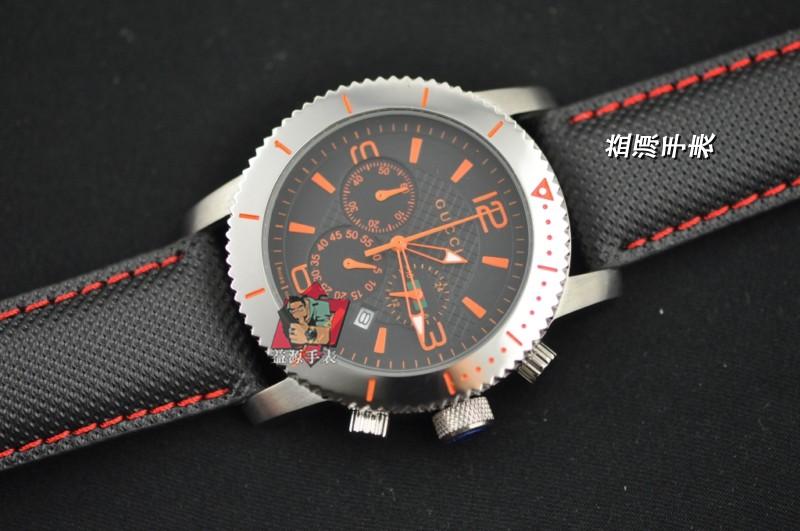 GUCCI Watch 01537 Men's All-steel Wristwatches