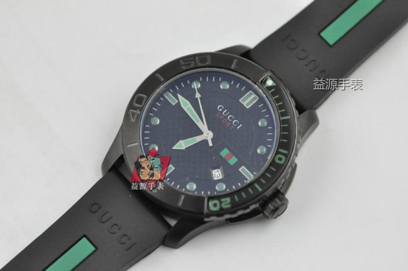 GUCCI Watch 01547 Men's All-steel Wristwatches
