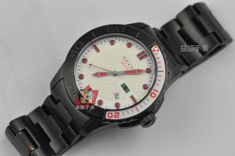 GUCCI Watch 01553 Men's All-steel Wristwatches