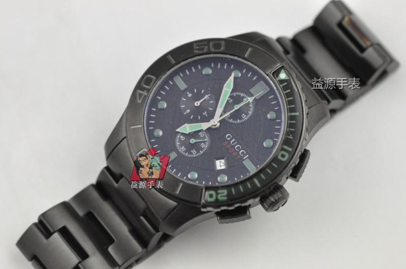 GUCCI Watch 01554 Men's All-steel Wristwatches