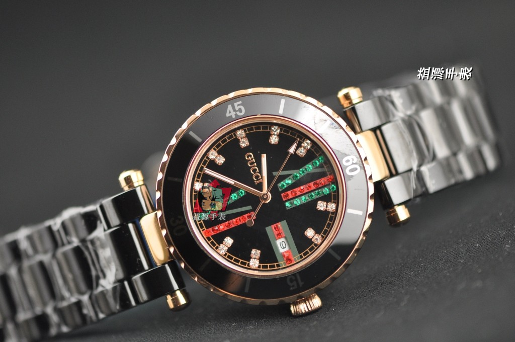 GUCCI Watch 01559 Men's All-steel Wristwatches