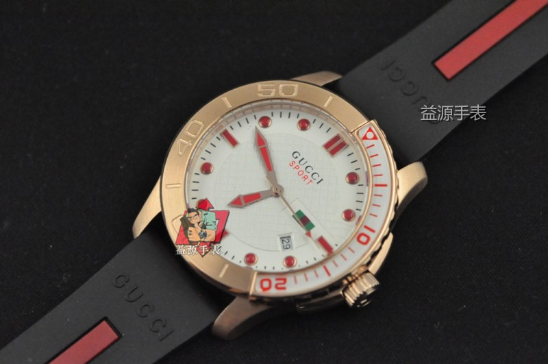 GUCCI Watch 01567 Men's All-steel Wristwatches