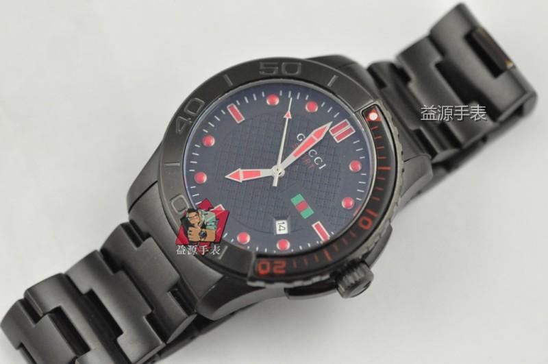 GUCCI Watch 01569 Men's All-steel Wristwatches
