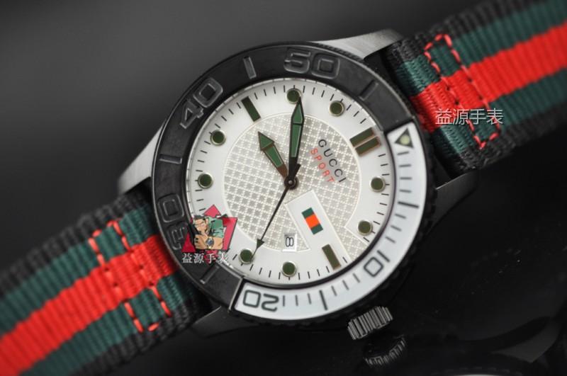 GUCCI Watch 01581 Men's All-steel Wristwatches