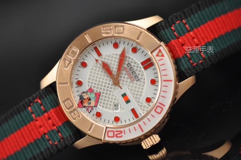 GUCCI Watch 01585 Men's All-steel Wristwatches