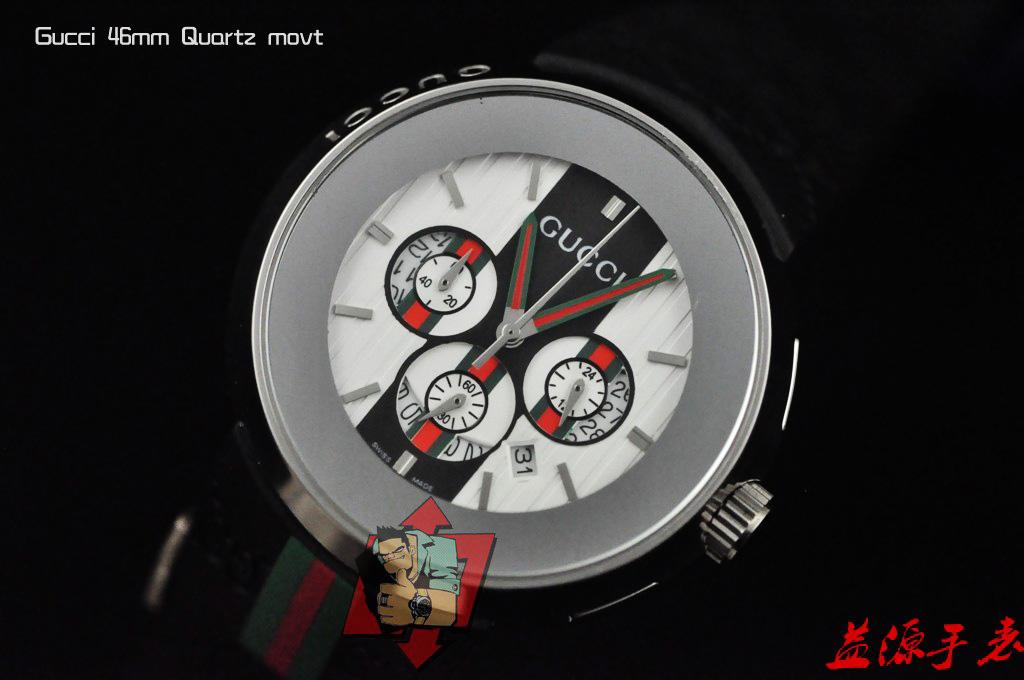 GUCCI Watch 01647 Men's All-steel Wristwatches