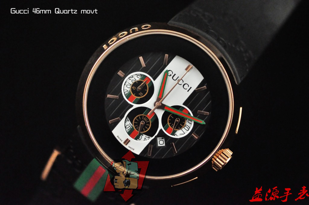 GUCCI Watch 01649 Men's All-steel Wristwatches