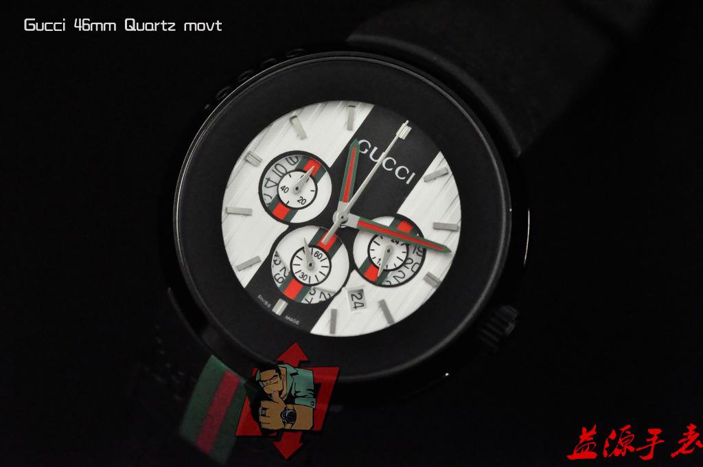 GUCCI Watch 01655 Men's All-steel Wristwatches