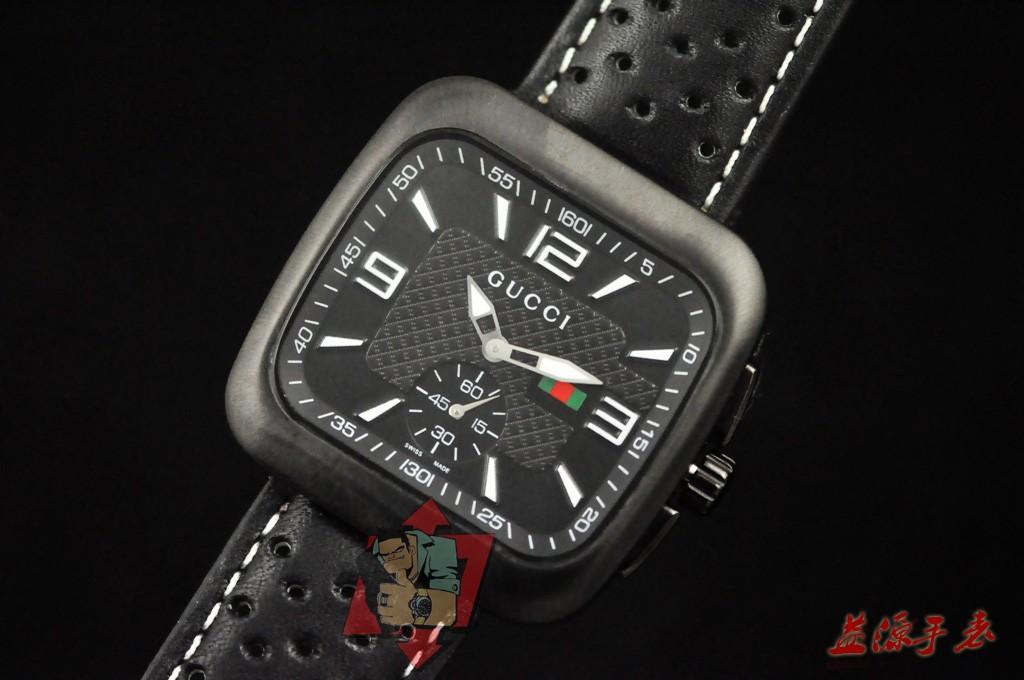 GUCCI Watch 01663 Men's All-steel Wristwatches