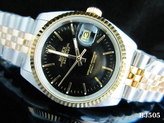 Rolex Watch 01704 Men's All-steel Wristwatches