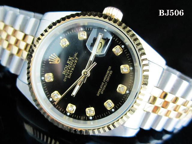 Rolex Watch 01705 Men's All-steel Wristwatches