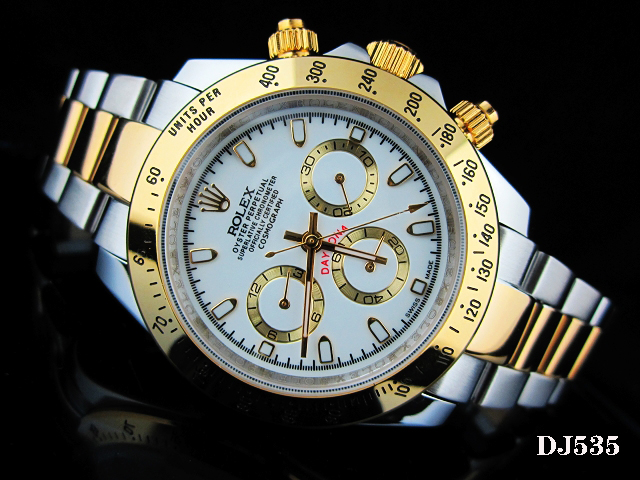 Rolex Watch 01724 Men's All-steel Wristwatches