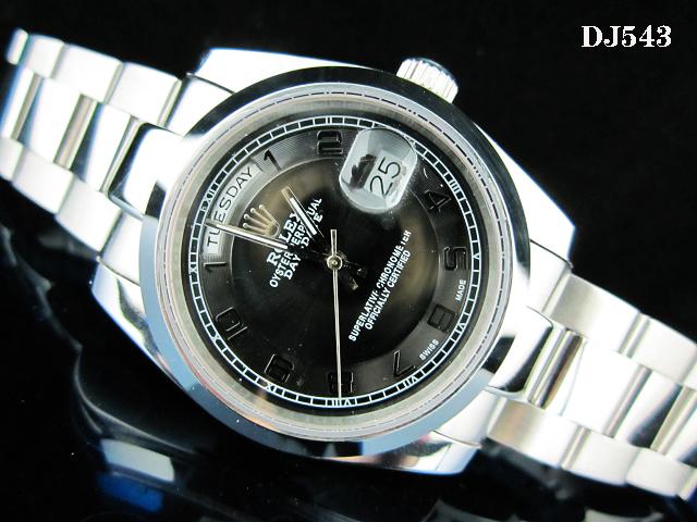 Rolex Watch 01732 Men's All-steel Wristwatches