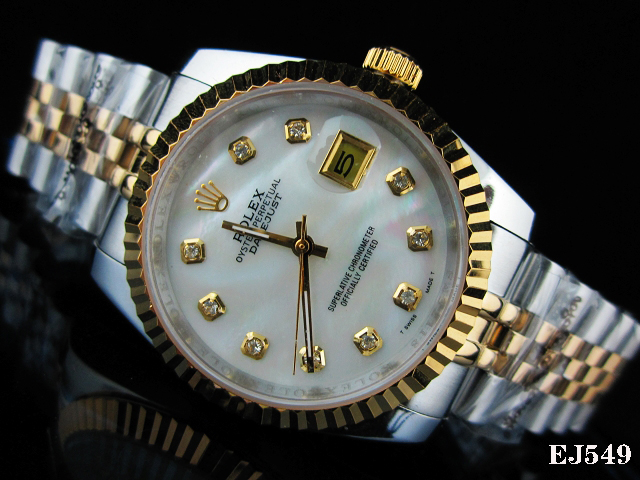 Rolex Watch 01738 Men's All-steel Wristwatches